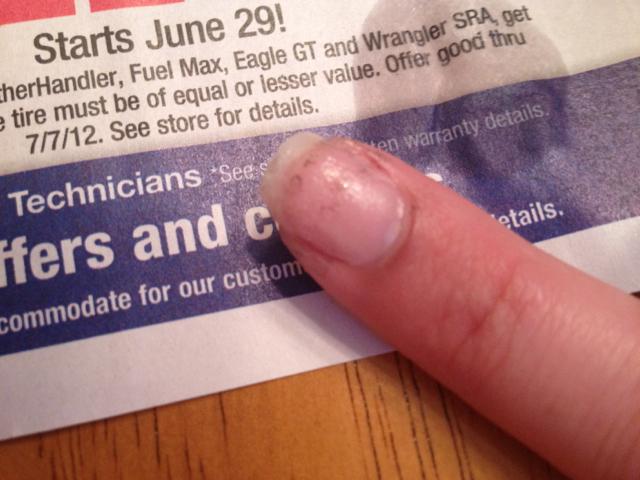 Newspaper Nail Art Pintester