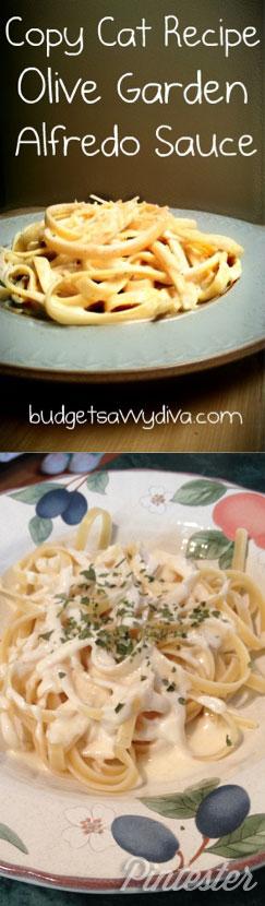 Olive Garden Pasta Alfredo Pintester