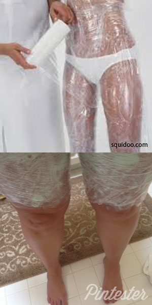 Easy Body Wrap for Cellulite With Home Ingredients ...