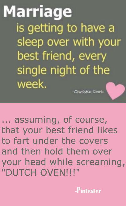 Unromantic husband