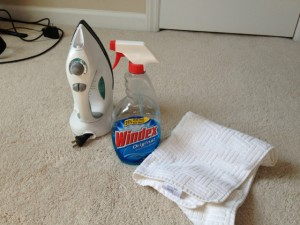 Iron Out Carpet Stains | Pintester