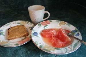 Breakfast, Day 1