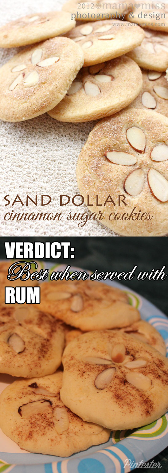 Sand dollar cookies. Serve with rum and no one will notice they're not quite round.