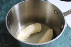 banana in lemon juice
