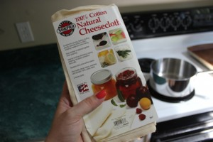 cheesecloth from Amazon