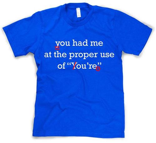 Fix my punctuation