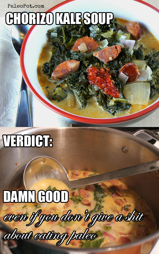 chorizo kale soup