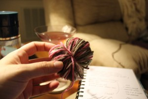 knot in yarn