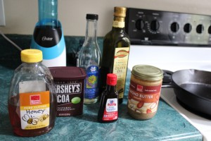 paleo fudge ingredients