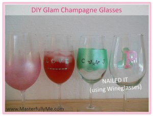 Wine glasses by MasterfullyMe.com!