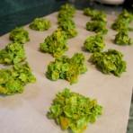 green piles