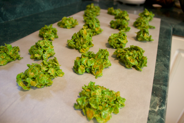 Cornflake Wreaths Pintester