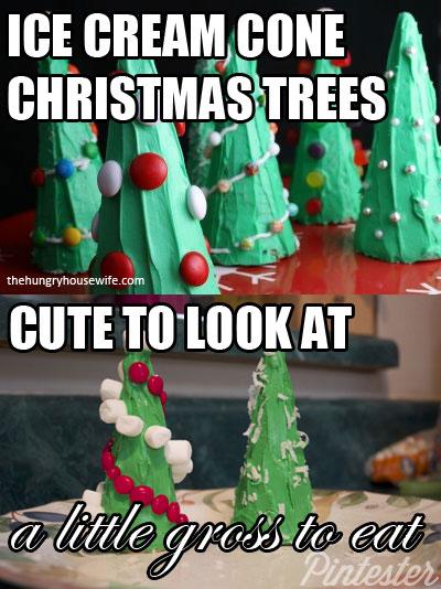 ice-cream-cone-christmas-trees