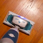 swiffer bissell steamboost in action
