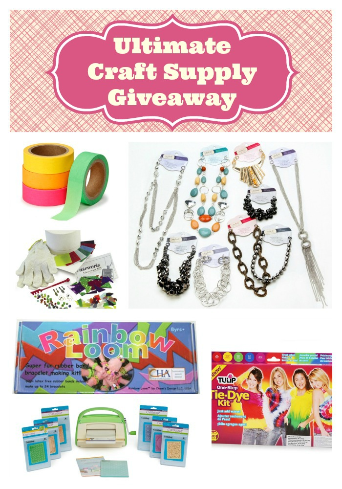 Giveaway: Ultimate Craft Supplies Worth Over $1000