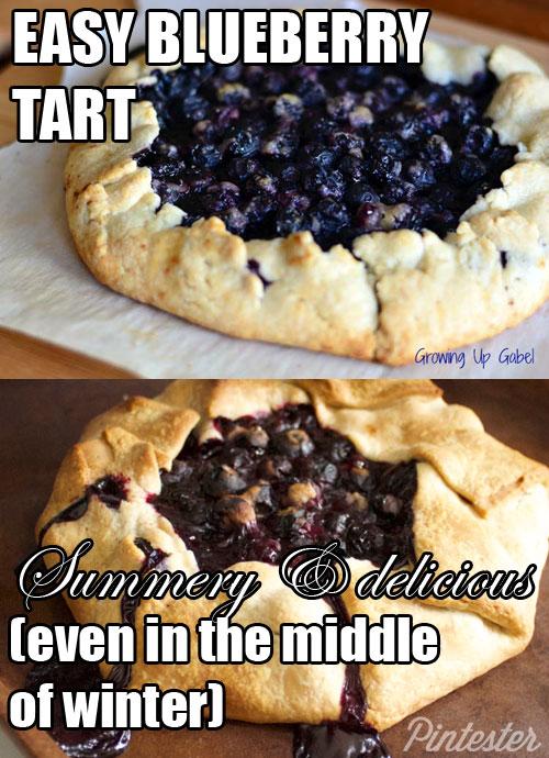 Easy-Blueberry-Tart