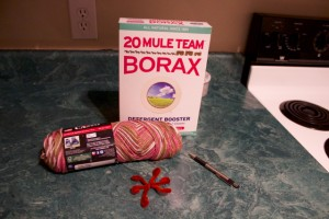 borax snowflake tools