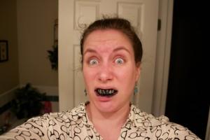 charcoal selfie 1