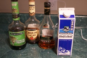 chocolate cocktail ingredients