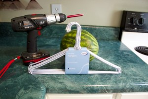 watermelon smoothie tools