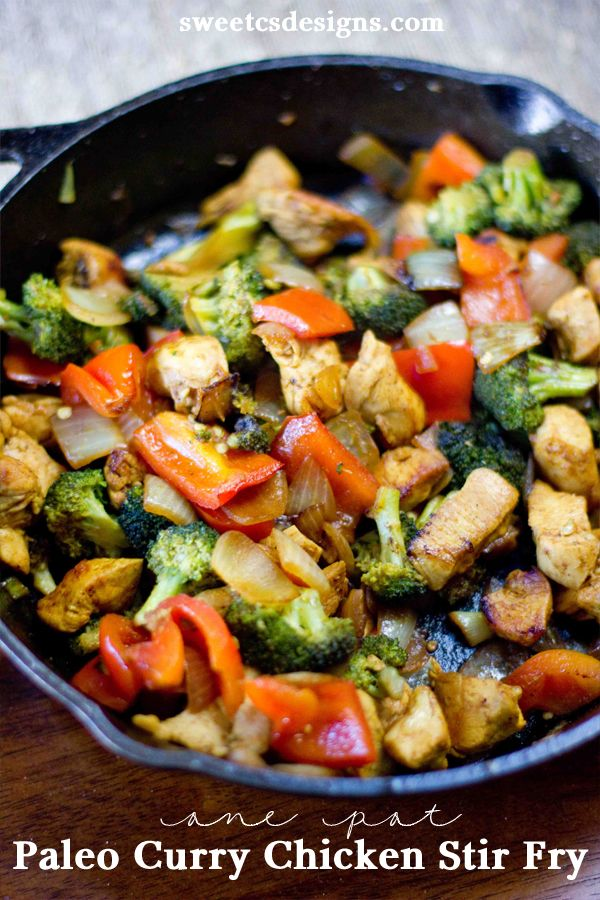 You want a recipe that takes one pan and no time? I feel ya. Image from Sweet C's Designs