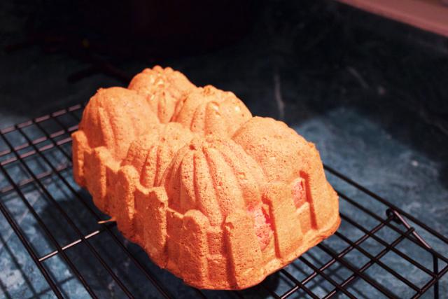 pumpkin bread penis cake