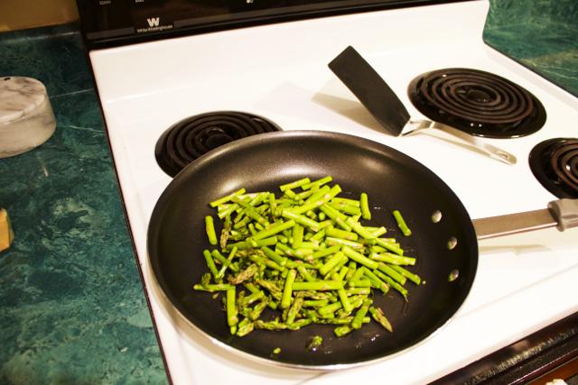 asparagus sautee