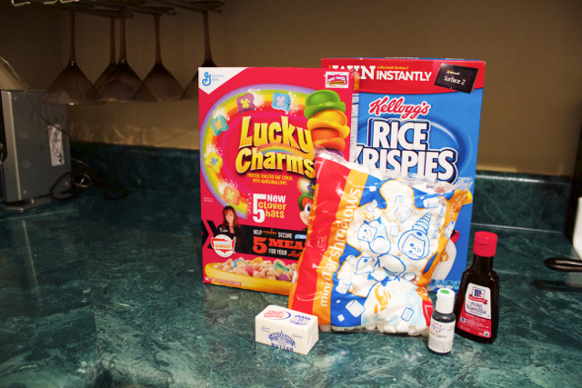 rice krispie treat ingredients