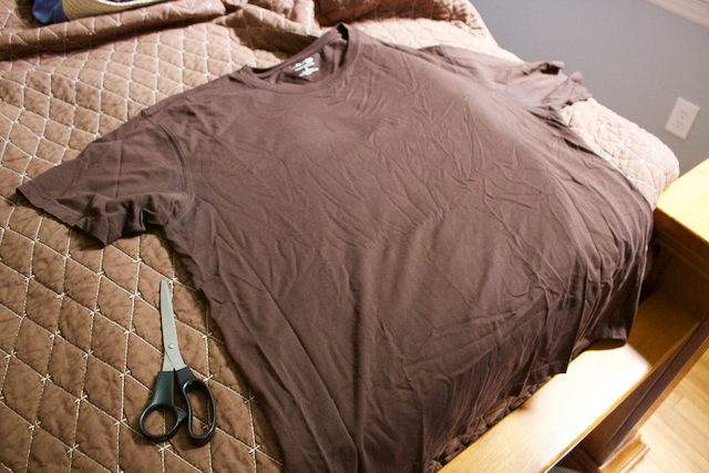 picture of ugly brown t-shirt